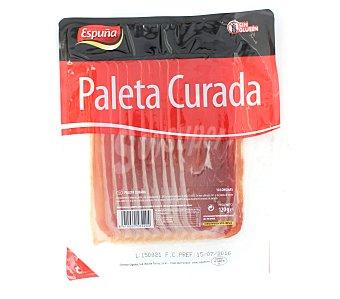Espuña Paleta de cerdo curada. sin gluten y cortada en lonchas 105 g