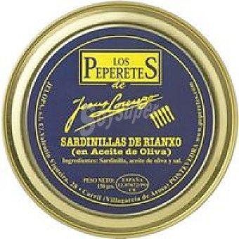 LOS PEPERETES Sardinilla en Aceite de Oliva Lata 150g