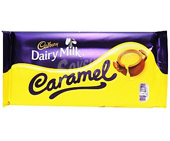 DAITY MILK Chocolate con leche con centro de caramelo 230 Gramos