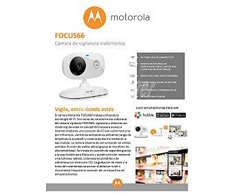 Motorola MBP85 Vigilabebé inalambrico de alta resolución, alerta de sonido y movimiento, monitorización de temperatura, visión nocturna