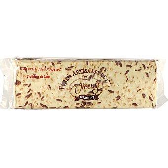 Vicens turrón crujiente de yogur y coco Calidad Suprema tableta 400 g