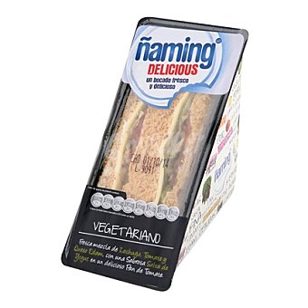 Ñaming Sandwich delicious vegetariano 190 g