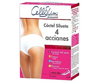 Cellislim Coctel de Adelgazamiento 4 Acciones 14 uds. 39,9 gr