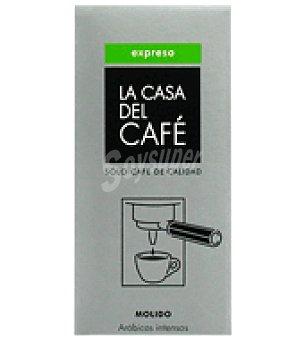 La casa del cafe Café Arabica natural molido Expreso 250 g