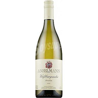 ANSELMANN Vino blanco weissburgunder seco Alemania Botella 75 cl