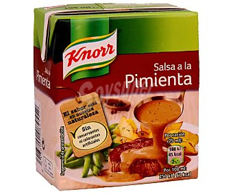 Knorr salsa a la pimienta envase 300 g