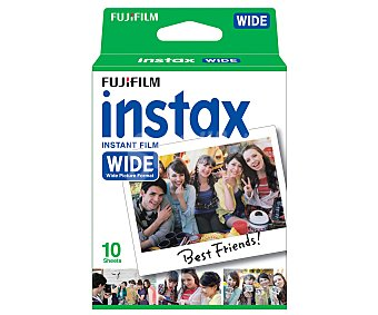 Fujifilm Cartucho INSTAX WIDE 300 para 10 fotos.