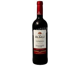 Viña Albali Vino D.O valdepeñas tinto tempranillo Botella de 75 cl