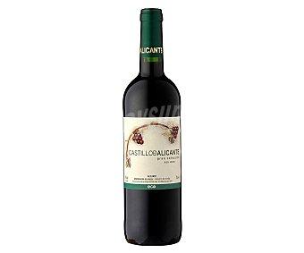 Castillo de Alicante Vino tinto ecológico gran selección con denominación de origen Alicante Botella de 75 cl
