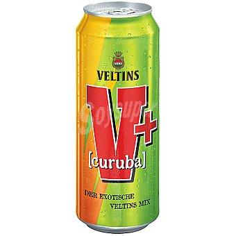 VELTIS V+ Combinado de cerveza y refresco sabor curuba y tequila Lata 50 cl