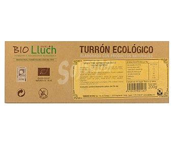 VICENS Turrón ecológico de chocolate con almendras 200 gramos