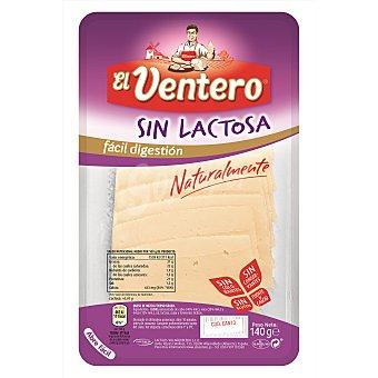 El Ventero Queso tierno sin lactosa en lonchas 140 g
