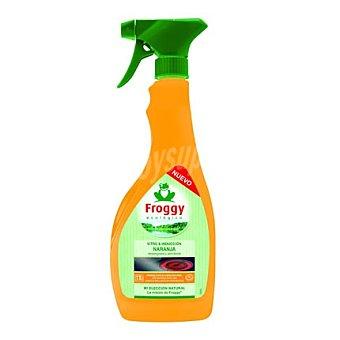 Froggy Limpiador vitro e inducción naranja 500 ml