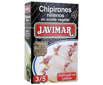 Javimar Chipirones rellenos en aceite vegetal 72 gramos