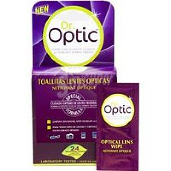 Dr. Optic Toallitas lentes ópticas Pack 24 unid