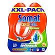 Gel lavavajillas anti-grasa Pack 2x33 lavados Somat