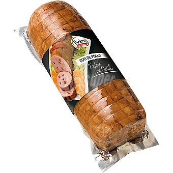Picken Roti de pollo trufado con dátiles