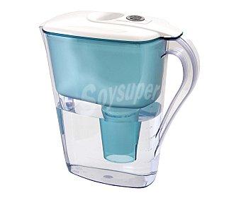 PRODUCTO ECONÓMICO ALCAMPO Jarra purificadora de agua mediante filtro con capacidad 1,25 Litros 1 Unidad.