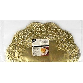 Papstar Blonda color oro 36 cm Paquete 4 unidades