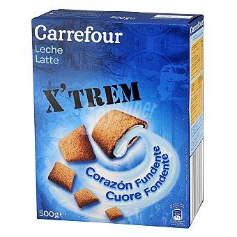 Carrefour Cereales rellenos de leche 500 g
