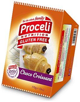 Proceli Croissant Chocolate sin Gluten proceli (3 unidades) 170 gr