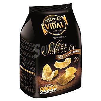 VICENTE VIDAL Gran Seleccion patatas fritas crujientes  envase 165 g