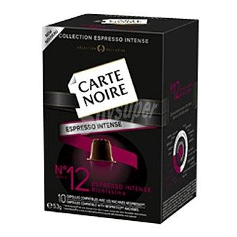 Carte Noire intense 12 10 ud