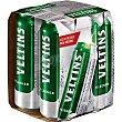 Cerveza rubia Pilsener original alemana Pack 4 botellas 20 cl Veltins