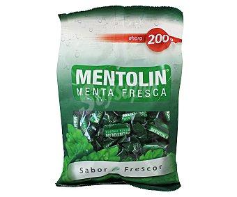 Mentolín Caramelos de menta fresca sabor suave Bolsa 200 g