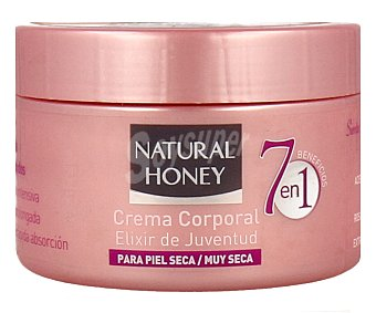 Natural Honey Crema corporal para piel seca o muy seca 250 mililitros