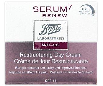 BOOTS SERUM 7 Crema restructurante antiedad para el día, 50 Mililitros