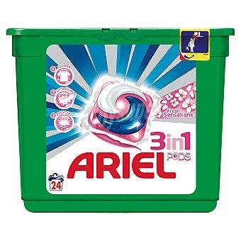 Ariel Pods detergente máquina fresh sensations en Cápsulas 24 uds