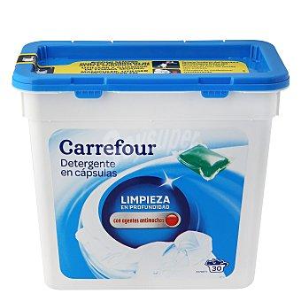 Carrefour Detergente en cápsulas para máquina 30 lavados