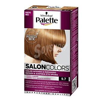 Palette Tinte Salón Colors 9,7 Rubio Cobrizo 1 ud