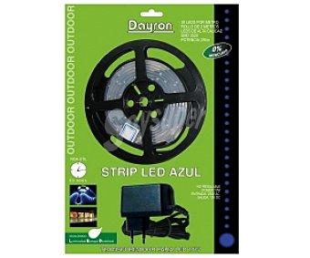 Dayron Strip led 2 m, blanco (30 led por metro) adhesivo azul 1 Unidad