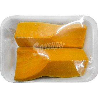 Calabaza en trozos  Bandeja 800 g peso aproximado