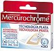 Apósito tecnoplata Caja 30 unid Mercurochrome
