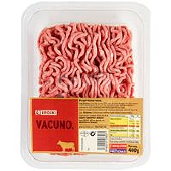 Eroski Picada de vacuno burger meat Bandeja 400 g