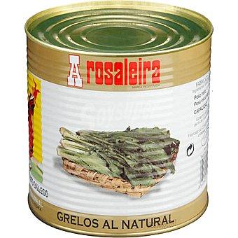 A Rosaleira Grelos al natural lata 500 g neto escurrido