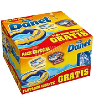 Danone - Danet Pack Especial Natillas Vainilla y chocolate + Flotador Danone Pack de 8x125 g