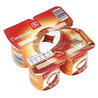 DIA Cuajada pack 4 unidades 125 g Pack 4 unidades 125 g