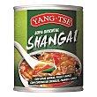 Sopa shangai con setas chinas, pollo, arroz 400 ml Yang-Tse