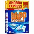 Detergente máquina polvo Maleta 100 dosis Wipp Express
