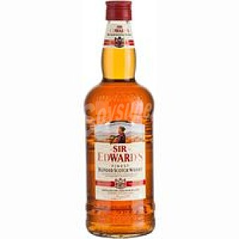 SIR EDWARDS Whisky inglés Botella 2 litros