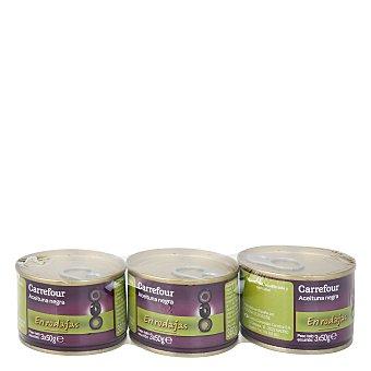 Carrefour Aceituna negra en rodajas peso 150 g