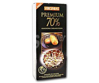 Virginias Galleta premium 70% almendra Caja 100 g