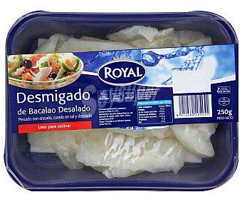 Royal Bacalao desmigado desalado 250 g