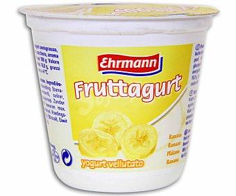 Ehrmann Yogur con plátano fruttagurt de 125 gramos