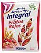 Cereal copos trigo integral frutos rojos Paquete de 300 g Hacendado