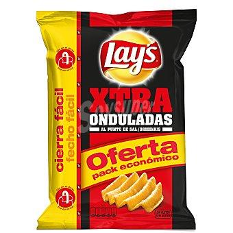 LAY'S Xtra Onduladas Patatas fritas al punto de sal bolsa 250 gr